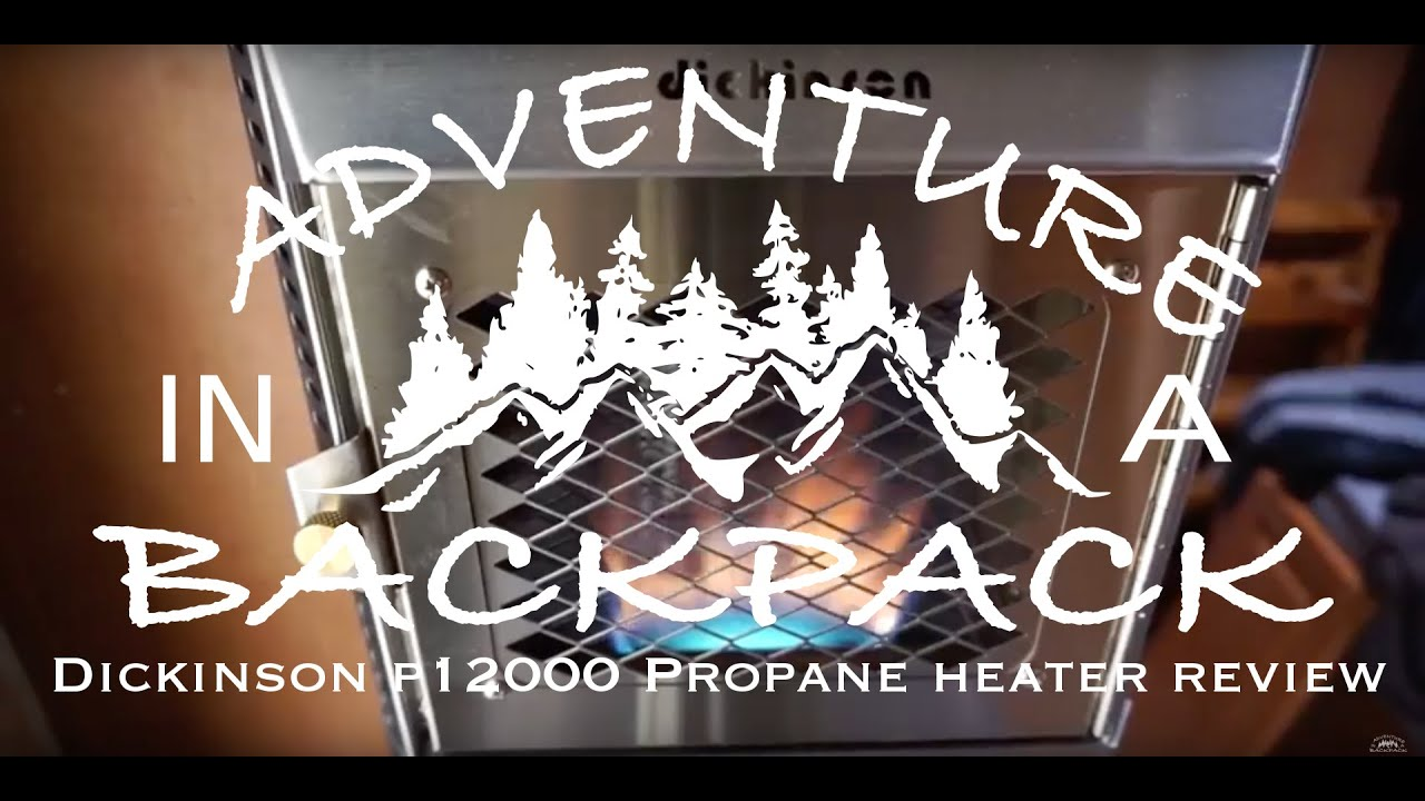 dickinson p12000 propane heater review youtube