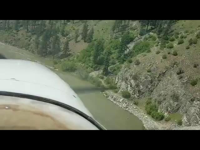 PART1 river approach into wilson bar airstrip
