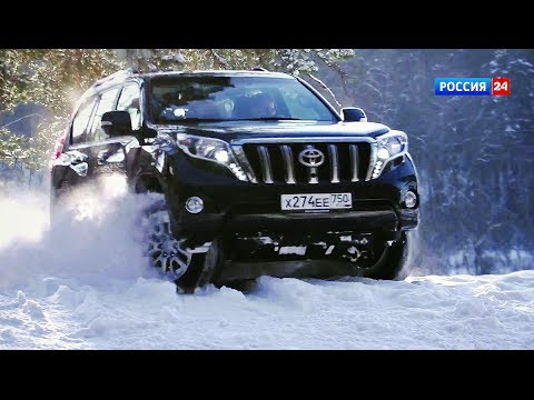 Toyota Land Cruiser Prado facelift 2014 // АвтоВести 141