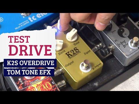 GTR EXP - Test Drive - K2S (Tom Tone Effects)