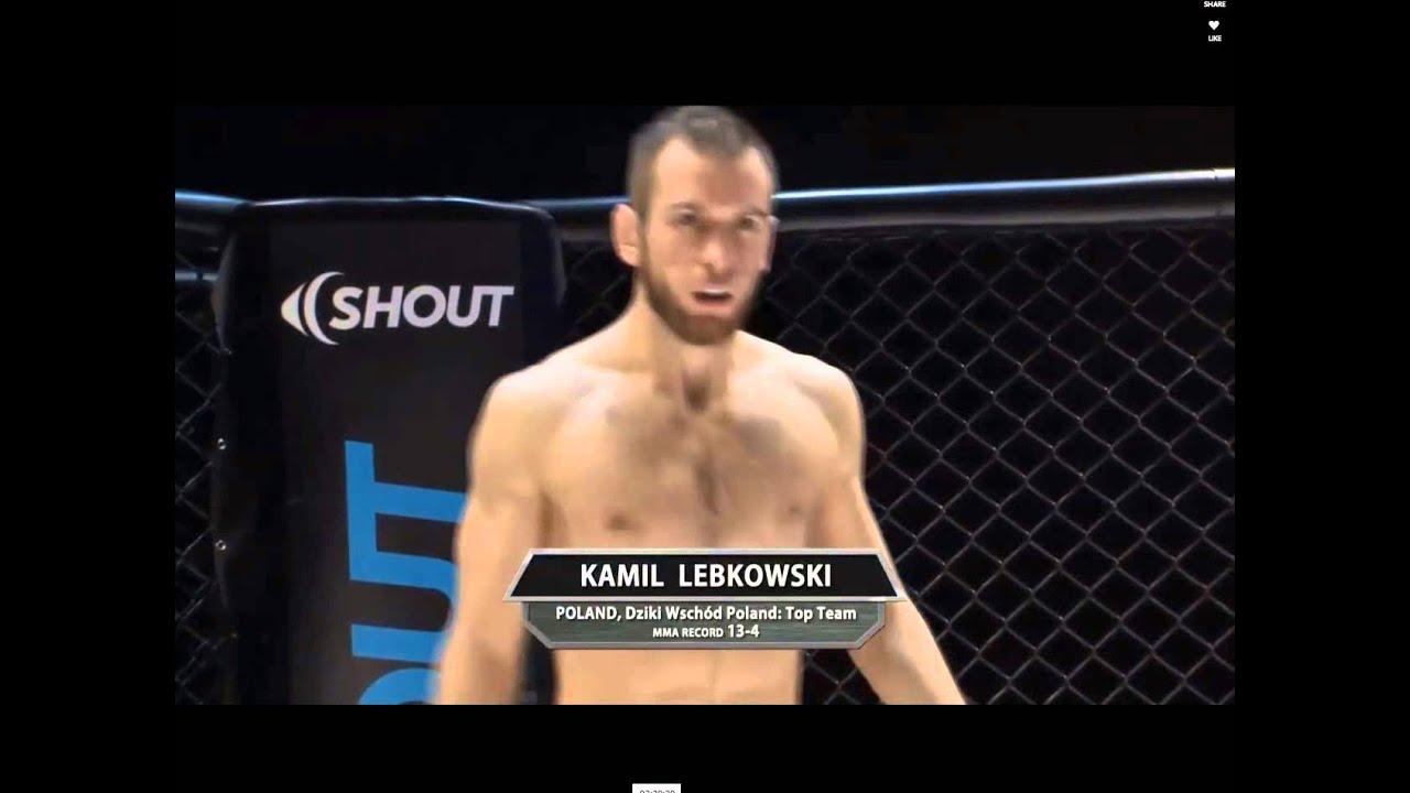 Kamil Lebkowski KO - YouTube