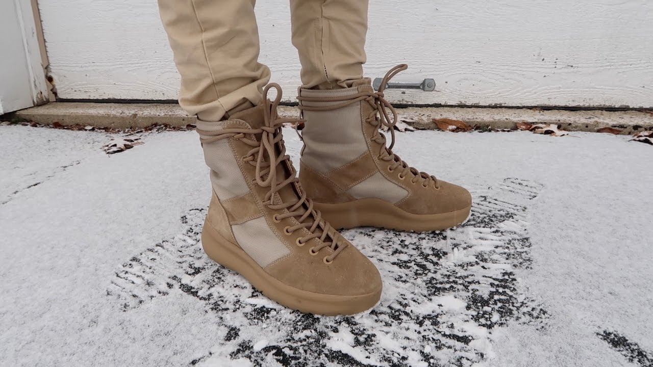 c4da136b4 YEEZY SEASON 3 BOOTS REVIEW   ON FEET - YouTube