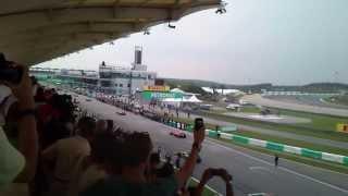 F1 Sepang 2013 -- Pure HQ Sound