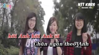 [Karaoke Beat] - Chân Ngắn - Cẩm Vân Phạm