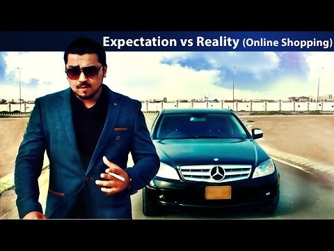 Online Shopping (Expectation Vs Reality) | The Idiotz
