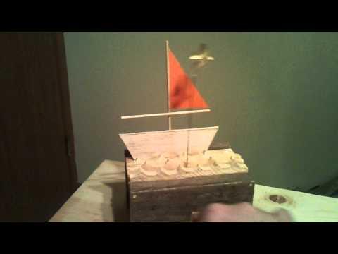 Sailboat automaton
