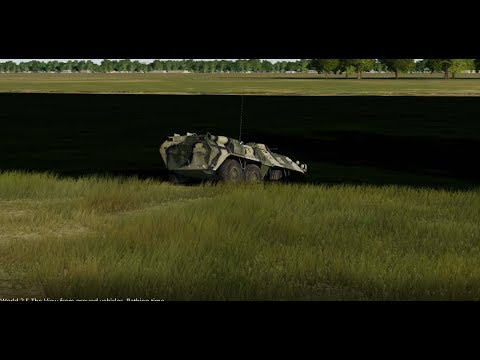 DCS World 2.5: The View from ground vehicles | Bathing time