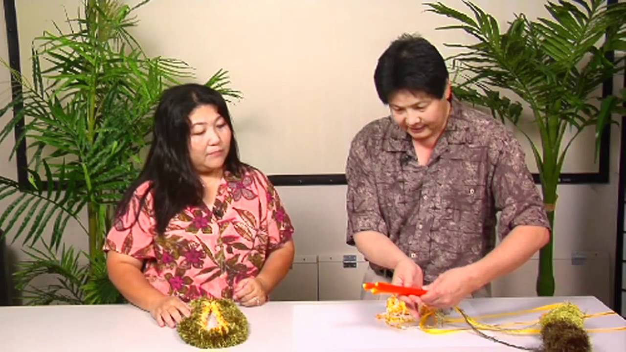 The Joy Of Crafting 1572 Three Straw Flat Lei Version 1 Youtube
