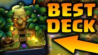 BEST JUNGLE ARENA 9 DECK/STRATEGY! HOW TO GET TO LEGENDARY ARENA WITH NO LEGENDARIES! Clash Royale