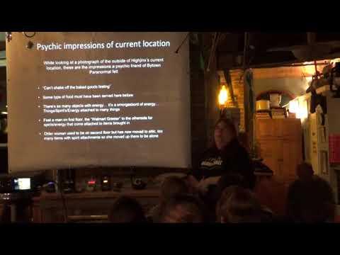 Paranormal investigations Vintage Store Highjinx Ottawa 1