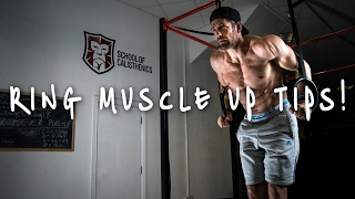 How to Ring Muscle Up | School of Calisthenics