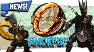 "🧙 News! ""Lord of the Rings MMORPG"" and How It"