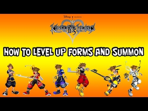 Kingdom Hearts HD 2.5 Remix - How To Level Up Master Form! - YouTube