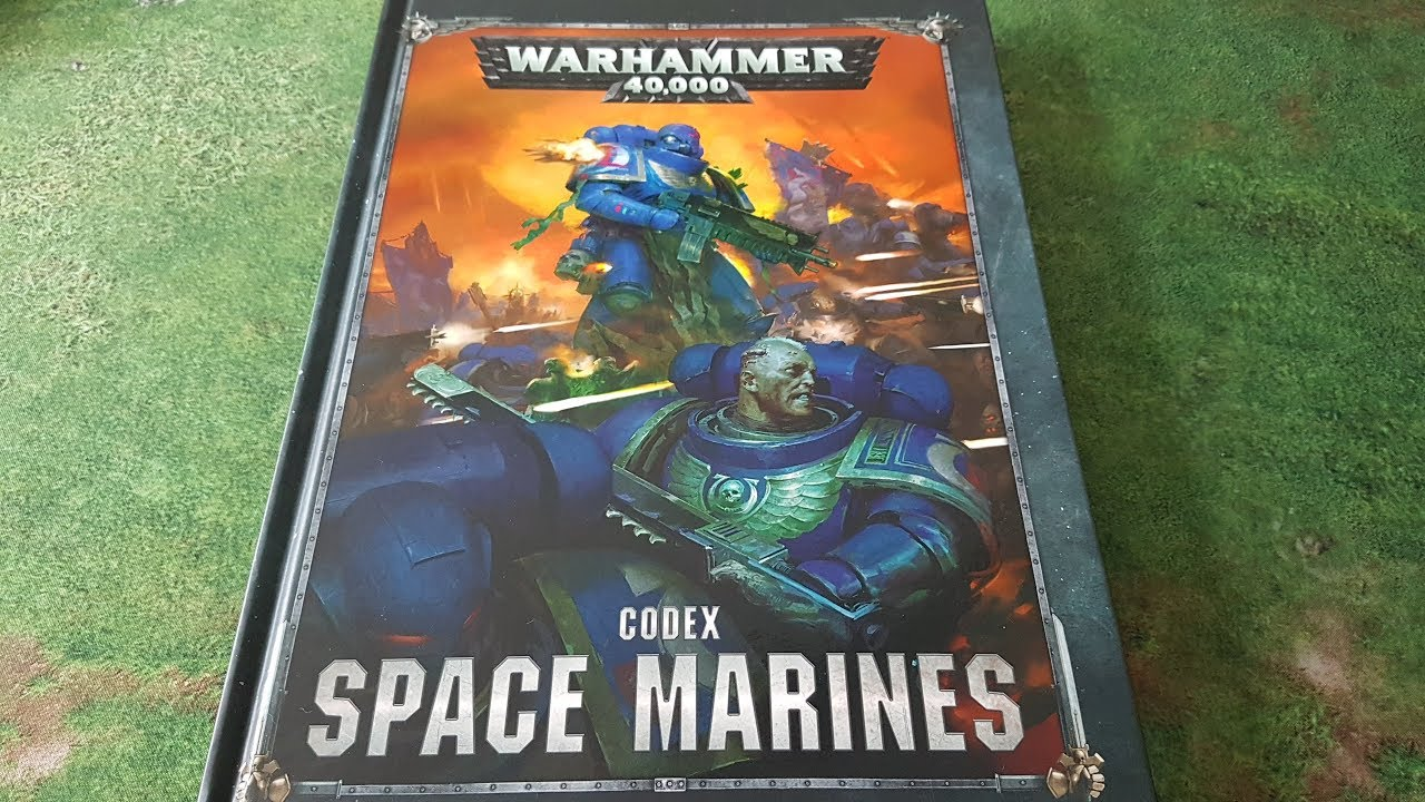 Space Marines codex review