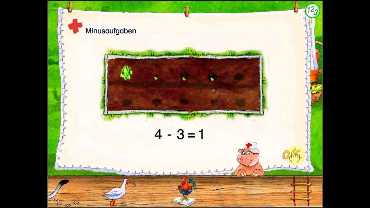 lernspass mathe 1 klasse salat pflanzen plus und minus bis 5 terzio youtube. Black Bedroom Furniture Sets. Home Design Ideas