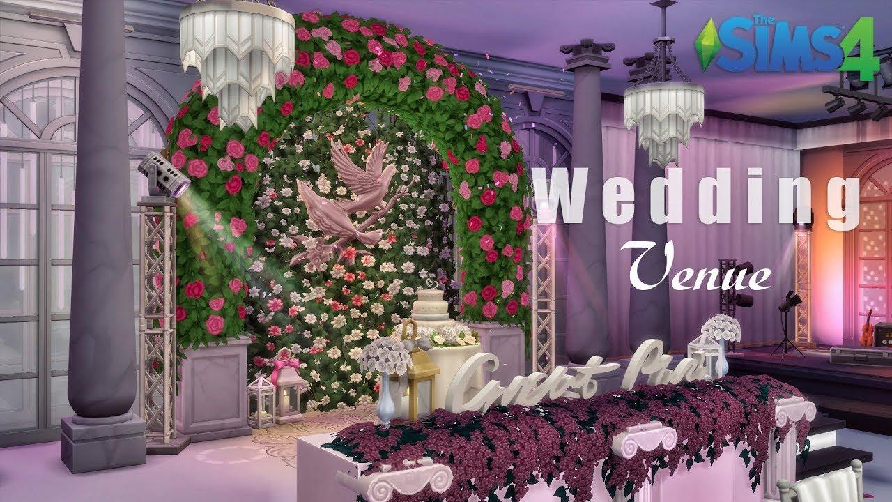 Wedding Venue • Luxury Mansion | No CC | THE SIMS 4 - YouTube