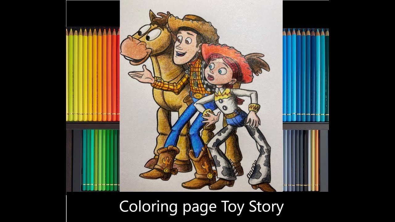 Free Toy Story Jessie Coloring Pages, Download Free Clip Art, Free ... | 720x1280