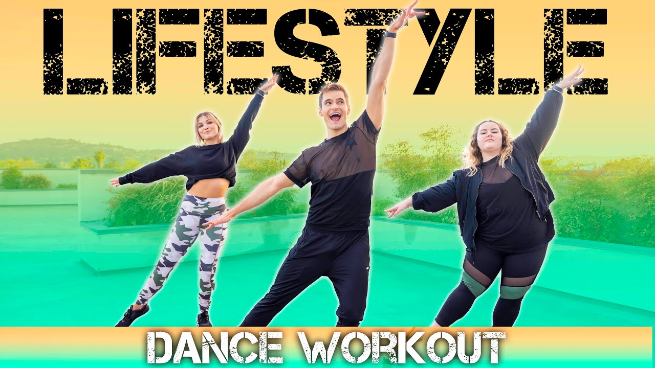 Jason Derulo feat. Adam Levine - Lifestyle   Caleb Marshall   Dance Workout