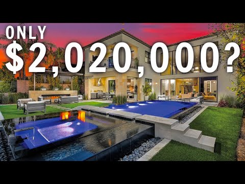 INSIDE A $2,020,000 MODERN MANSION | California LUXURY Home Tour | California Mansion Tour