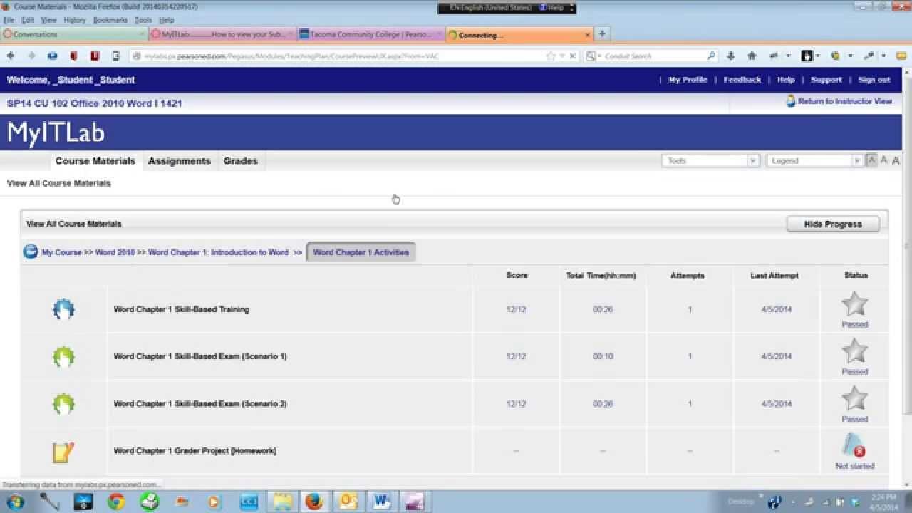 Grader project homework download upload viewsubmission in grader project homework download upload viewsubmission in myitlab fandeluxe Choice Image