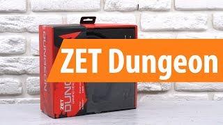 Распаковка ZET Dungeon / Unboxing ZET Dungeon
