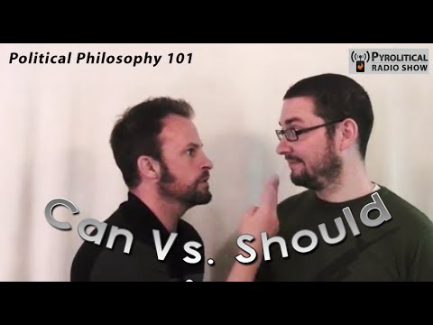 Governing Principles: Can Vs. Should