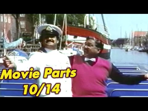 Gandeevam Full Movie Parts 10/14 - Anr, Balakrishna, Roja, Mohanlal