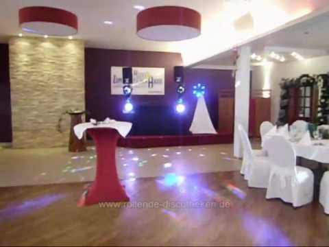 RollendeDiscotheken - Feiern im Gasthof Zum Deutschen Hause - Kirchhatten - Saal & DJ Technik