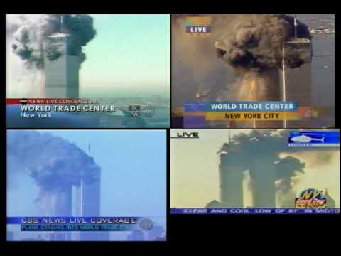 United Airlines Flight 175 Impact Live - YouTube