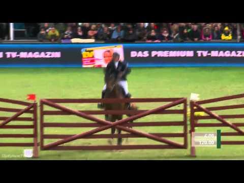 Deutsches Spring- und Dressur-Derby 2015 - Andre Plath mit AFP's Cosmic Blue