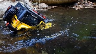 Rc Car Trail Mst Cfx Jeep Rubicon Su-Jung Valley Diving