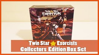 Anime Unboxing | Twin Star Exorcists Part 1 Collector's Box (Blu-Ray/DVD Combo) 2018