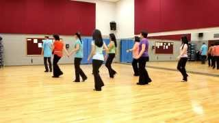 Price of Admission - Line Dance (Dance & Teach in English & 中文)