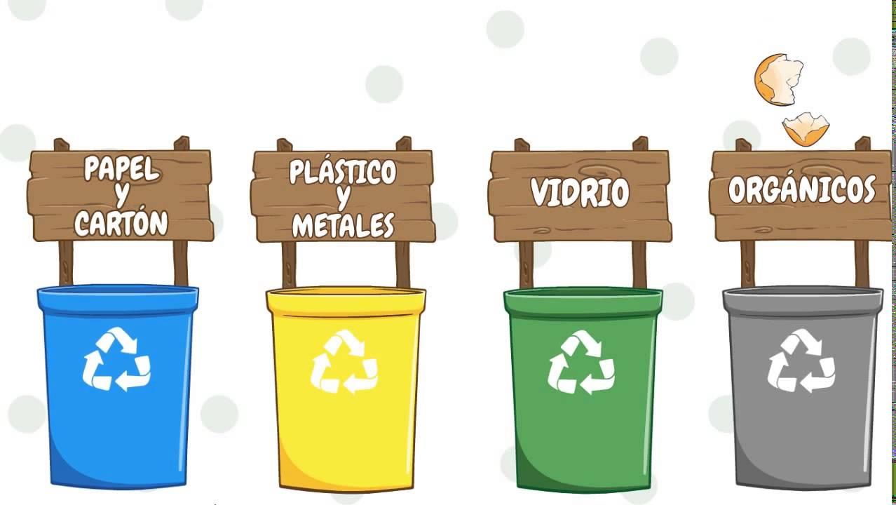 Mat metodolog as de investigaci n el reciclaje youtube - Colores para reciclar ...