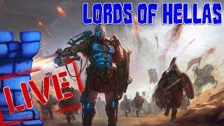 Tom vs. Sam vs. Vernon LIVE!! Lords of Hellas
