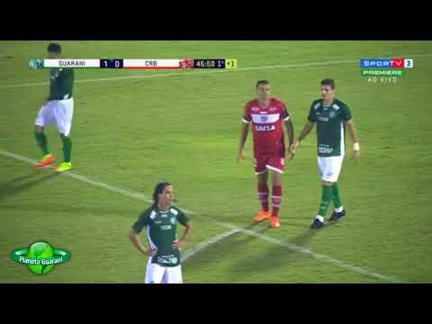 Guarani 2x0 CRB - Melhores Momentos -Série B 2018 - 7ª rodada