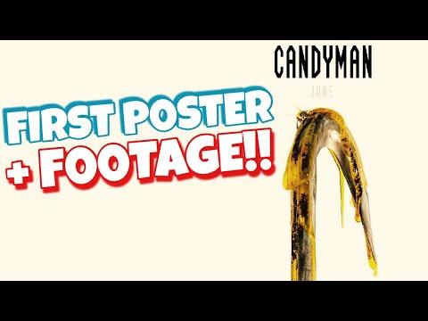Jordan Peele CANDYMAN (2020) Poster + Trailer Footage