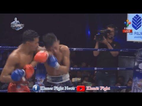 ឡៅ ចិត្រា vs លន បញ្ញា [គូផ្ដាច់ព្រ័ត្រខ្សែក្រវាត់មាស], Pnn Sport Kun Khmer 13-10-2019