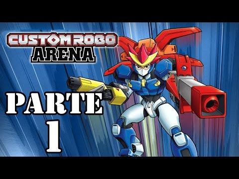 Let's Play: Custom Robo Arena - Parte 1
