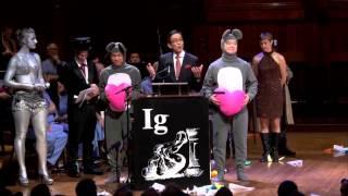 イグノーベル賞医学賞受賞スピーチ 2013年9月12日