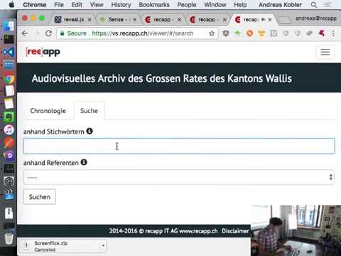 Interactive multimedia archive powered by Elasticsearch by Andreas Kobler