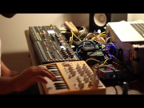 insomnia ambient improv on analog four, octatrack and microbrute with some pedals