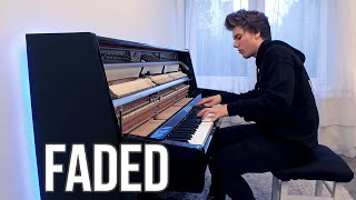 Download Alan Walker - Faded (Piano cover) by Peter Buka