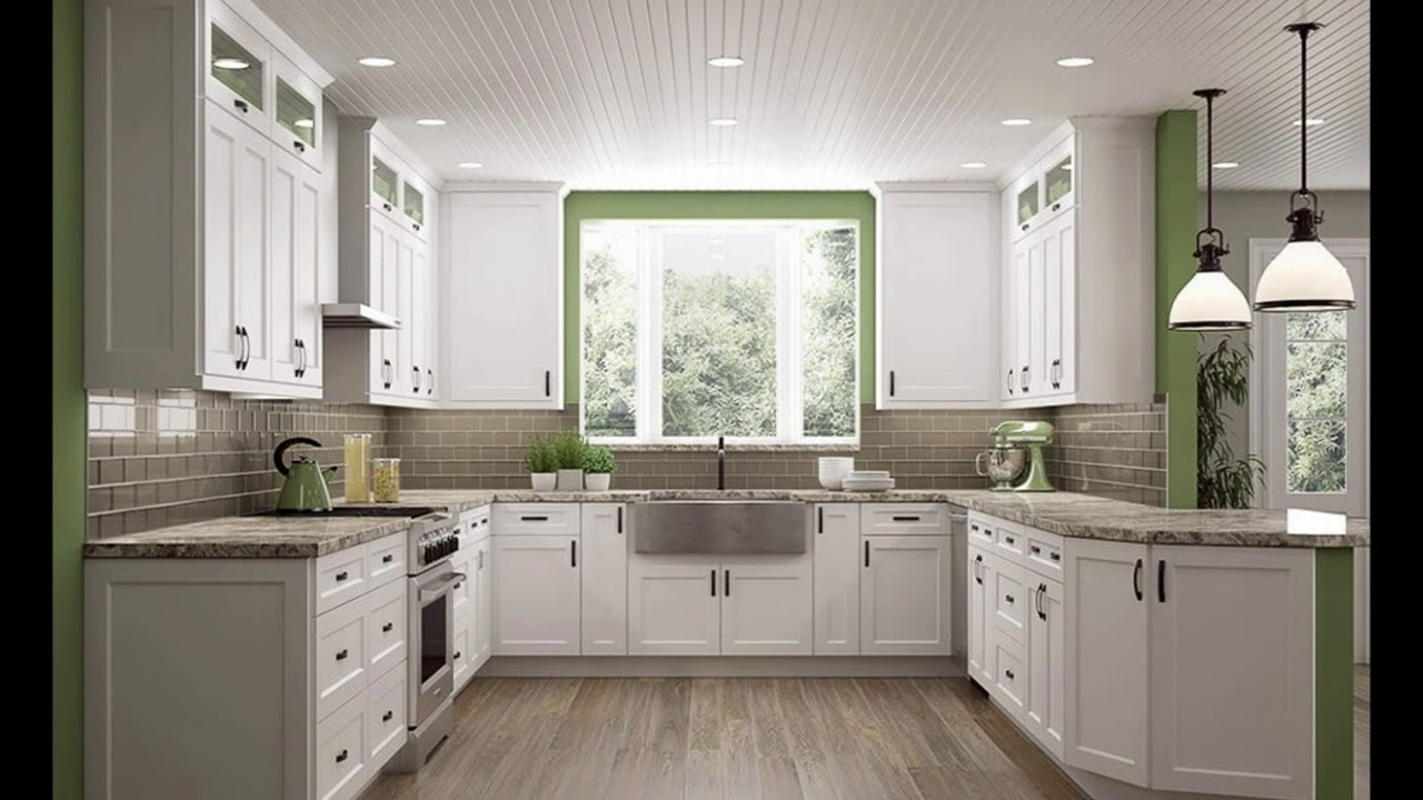 10x10 Kitchen Cabinets Home Depot Designs Youtube
