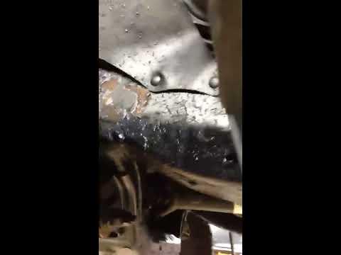 South point Toyota Calgary frame rust recall 173 & broken in half leaf springs.