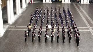 Onori alla Bandiera Giuramento 195 Impeto Accademia Militare di Modena