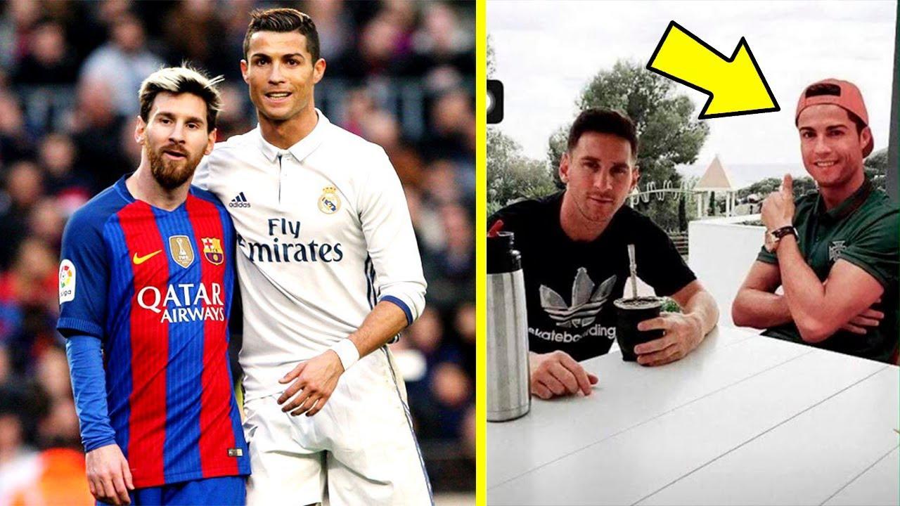 Cristiano Ronaldo Y Lionel Messi No Son Amigos Mira Este Video Y Cambiaras De Opinion Youtube