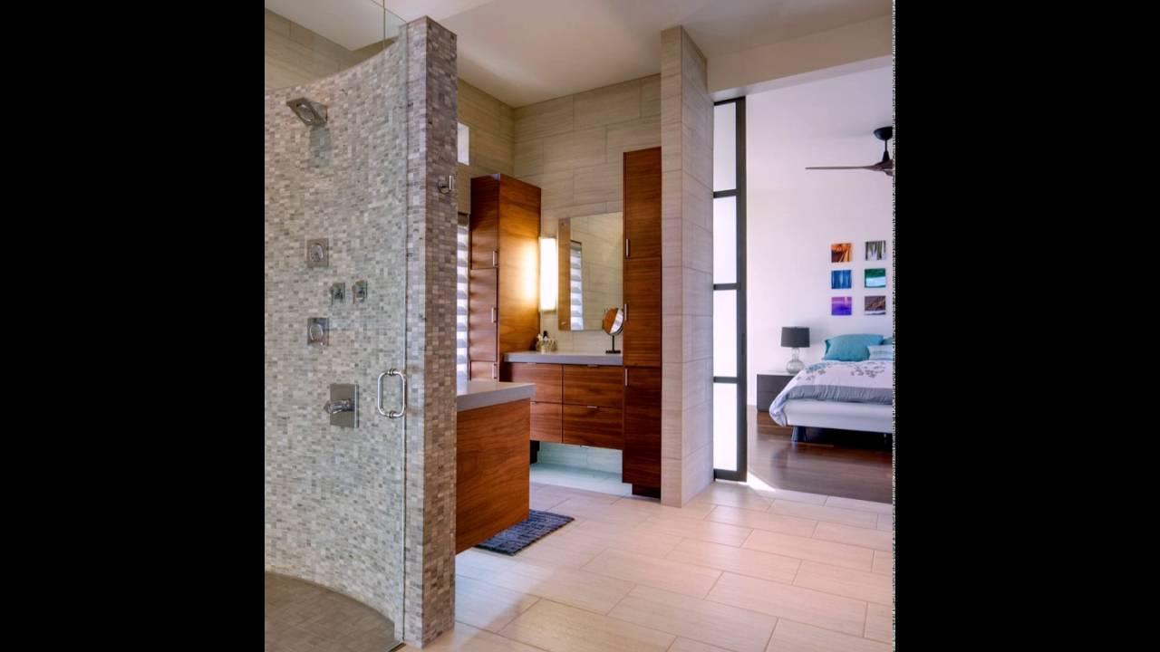 Moderne Badezimmer neben dem Master Schlafzimmer - YouTube
