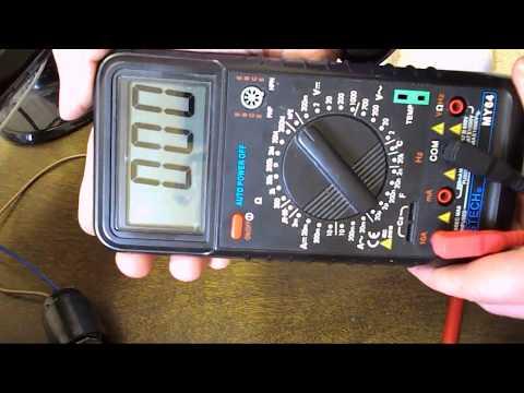 Как пользоваться цифровым мультиметром