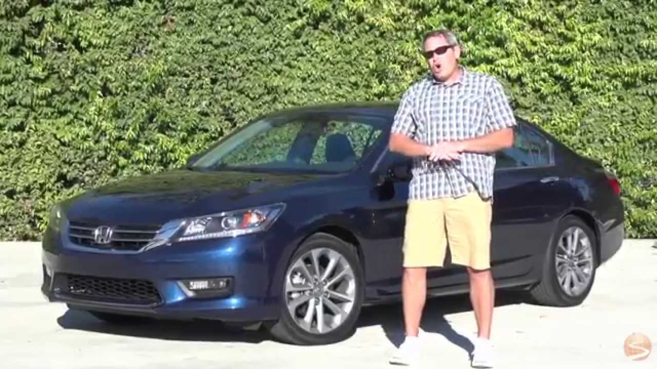 2015 Honda Accord Sport Sedan Test Drive Video Review